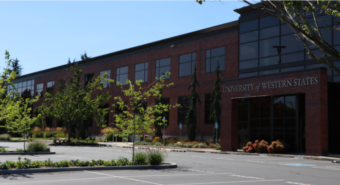 Front of Campus