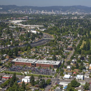 new campus and city of Portland