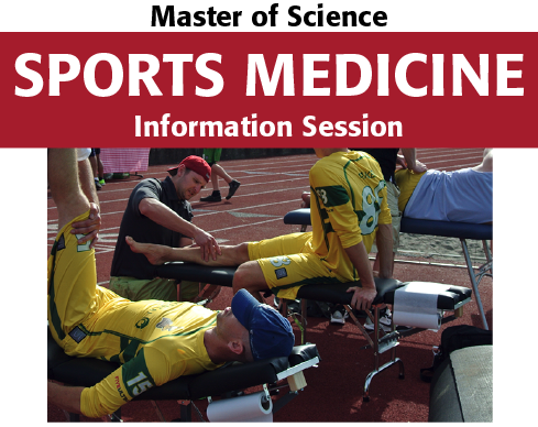 Sports Med info session graphic