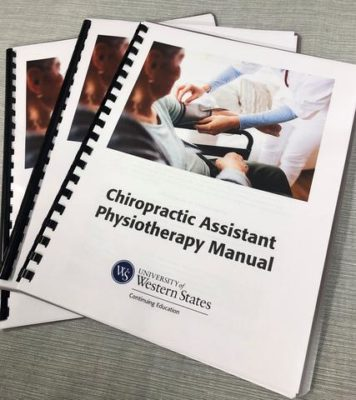 chiropractic assistant training manual