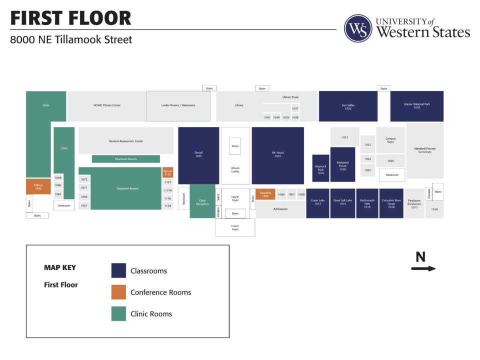 madison campus map first floor