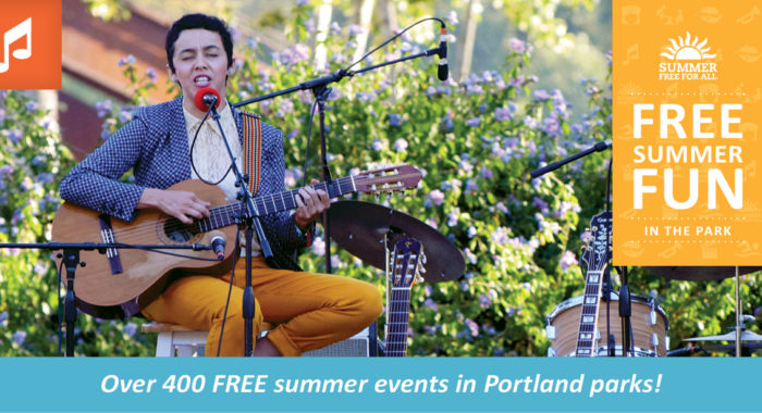 concerts in the parks