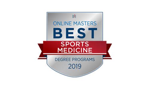 online master's sports medicine